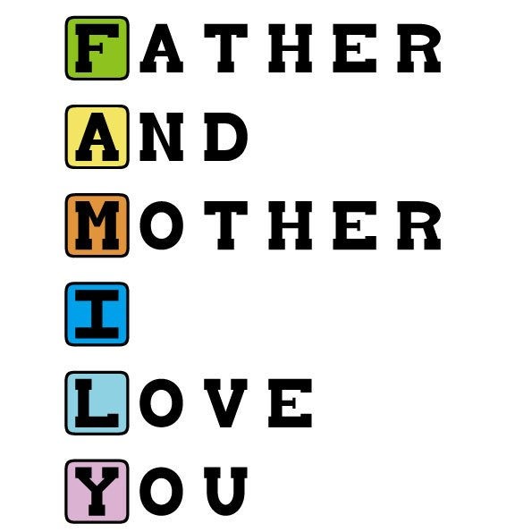 father and mother i love you t shirt for image 506308 on favim