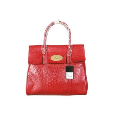 Modern Mulberry Women Red Bayswater Bag GBP 184.32 - Online Store