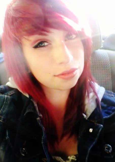 car, make up, red hair, sunshine