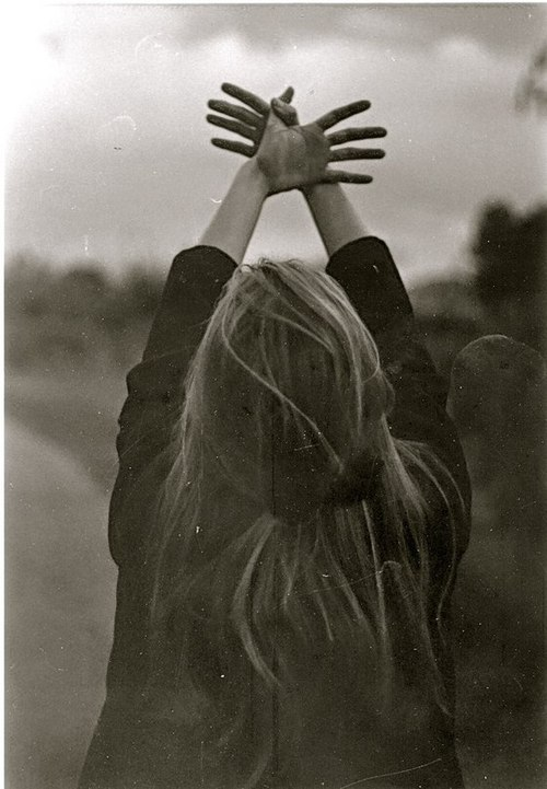 black, freedom, girl, hair, hands, retro, vintage, white