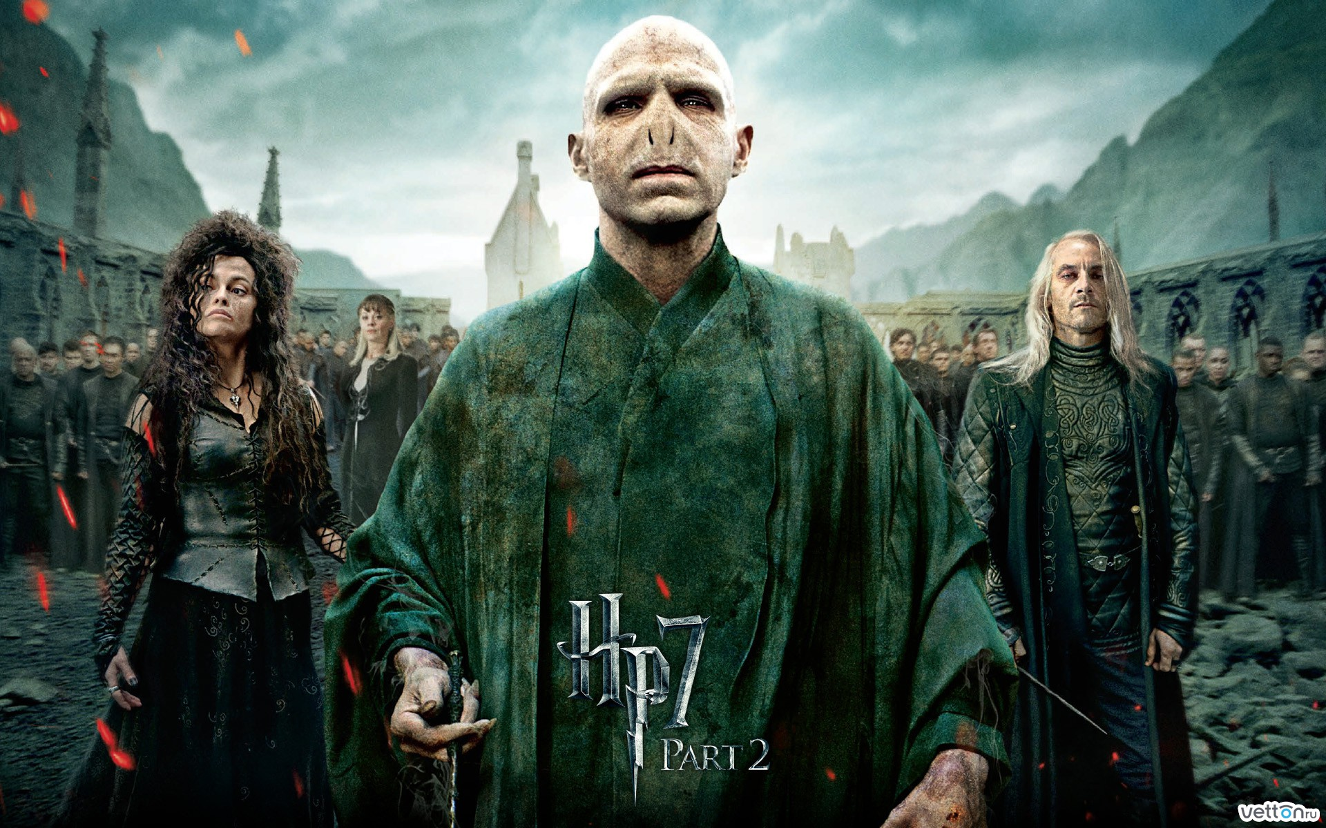 a battle, movie, harry potter, the deathly hallows part 2