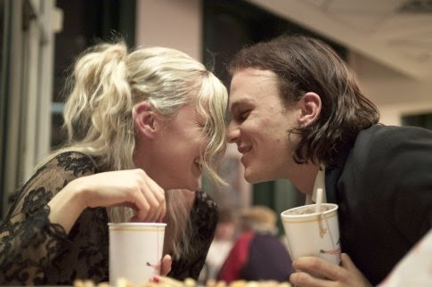 abbie cornish, candy, couple, cute, heath ledger