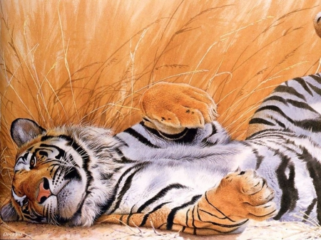 abstract, animal, art, tiger