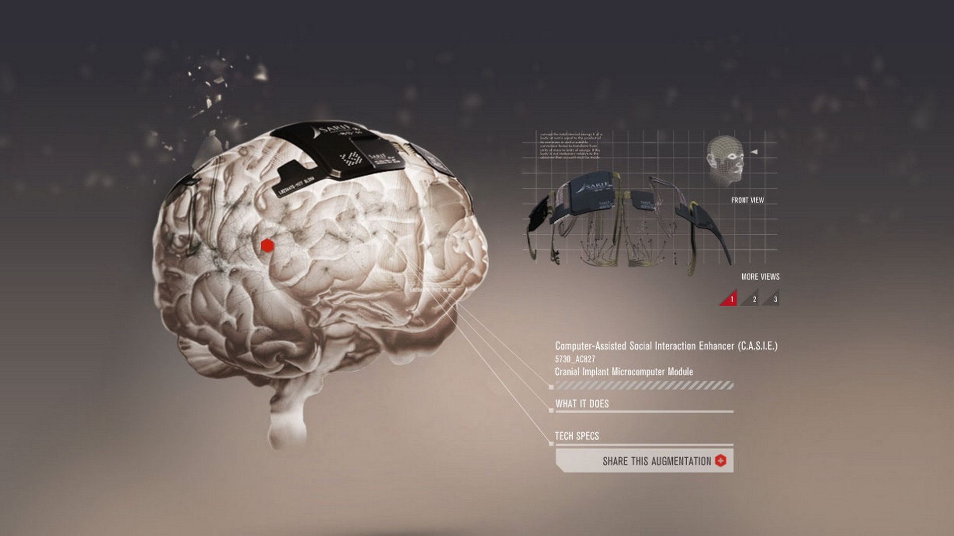 abstraction, the brain and the game