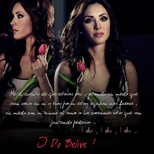 actress, anahi, beautiful, believe, mexican, red, rose, singer