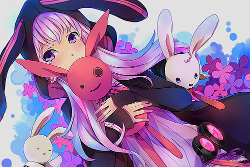 anime, bunny, girl