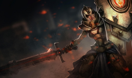 armour, female, games, league of legends