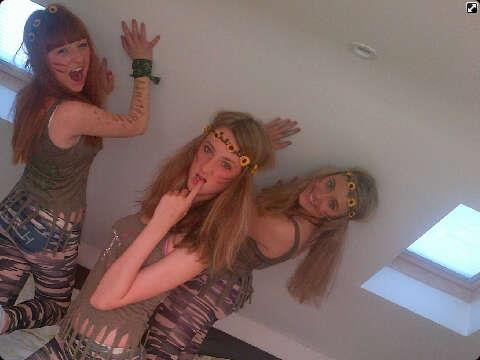 army, fancydress, friends