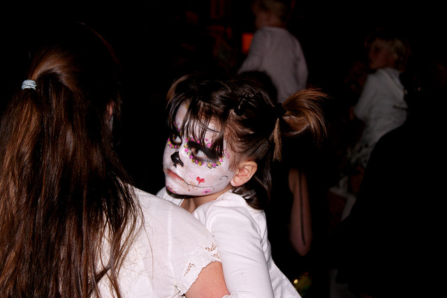 art, baby, child, cute, day of the dead