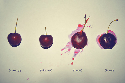 art, boom, cherry, food, fruit