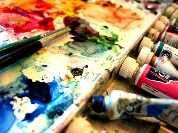 art, colours, paint