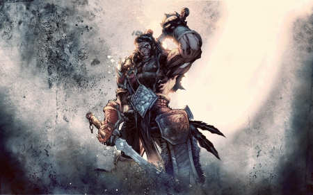 artwork, of, varian, warcraft