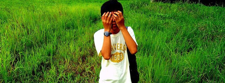 asian boy, grass, funny, landescape, boy