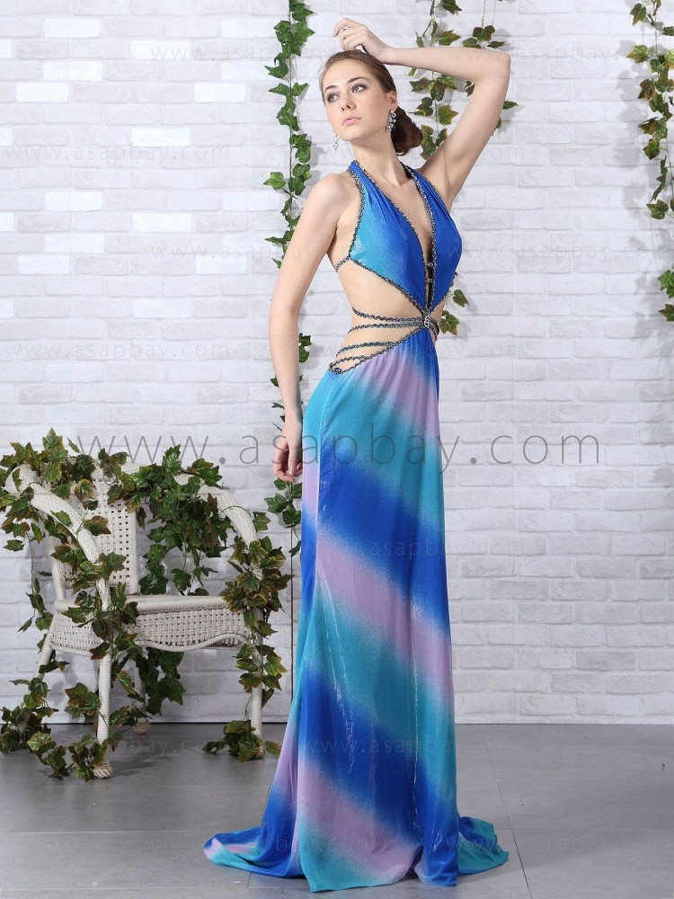 attractive exquisite elegant romantic beading discount halter gorgeous 2012 party dress