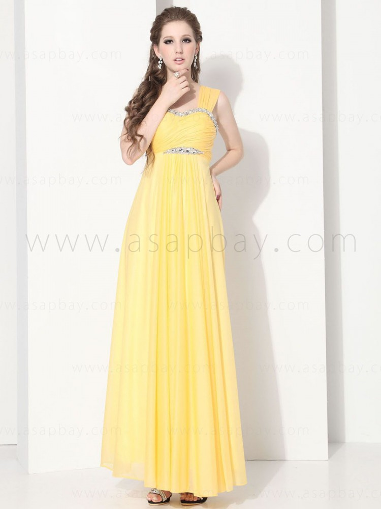 attractive exquisite elegant romantic chiffon sweetheart floor length pageant dress