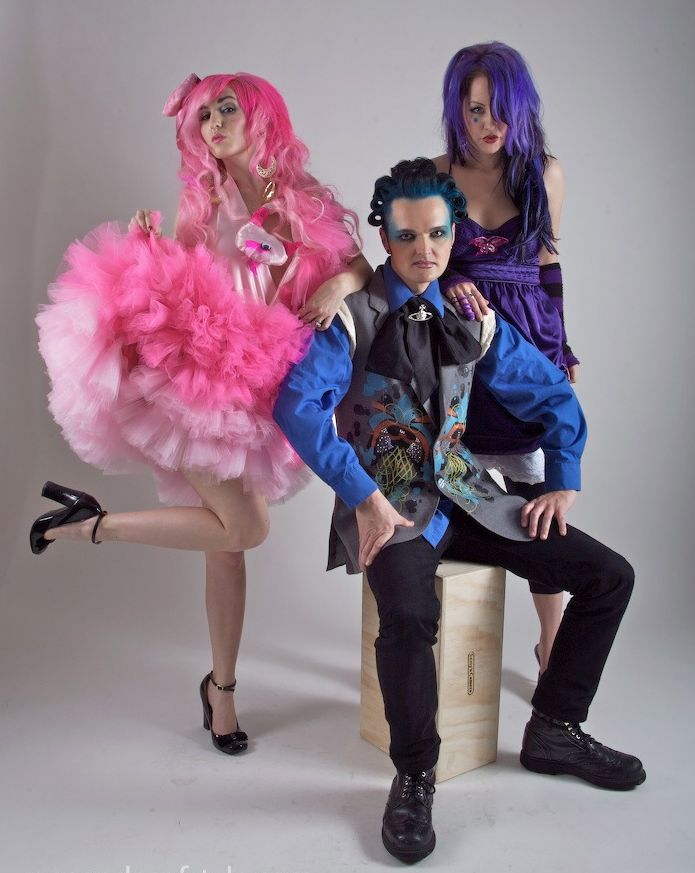 audrey kitching, clint catalyst, linda strawberry, fashion, photography