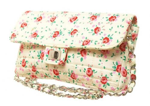 bag, cute, fashion, floral, flower