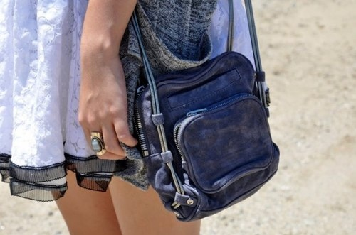 bag, dress, fashion, sling, style