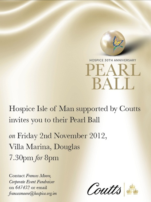 ball, isle of man, charity, donation, money