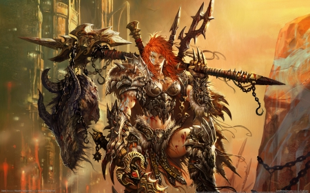 barbarian, battle, blizzard, diablo 3