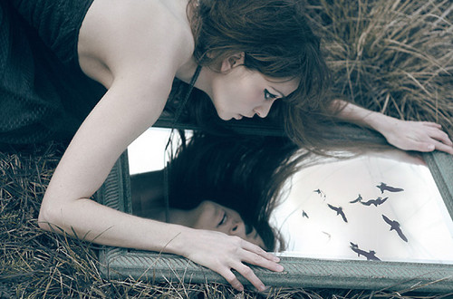 art, beautiful, beauty, birds, couple, crow, cute, face, fashion, girl, hair, photography, pretty