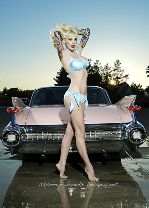 beauty, blonde, car, pin up, pin-up