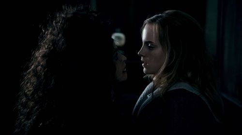 art, beautiful, bellatrix, couple, cute, deathly, fashion, granger, hair, hallows, harry, hermione, photography, pretty