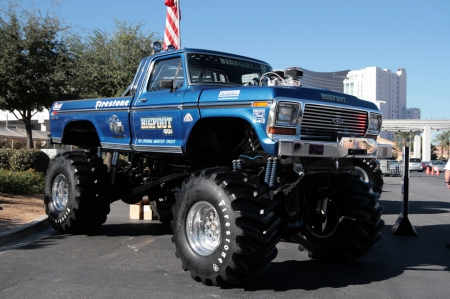 bigfoot, monster, monster truck, truck