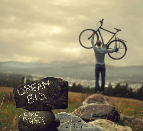bike, nature, dream, big, live