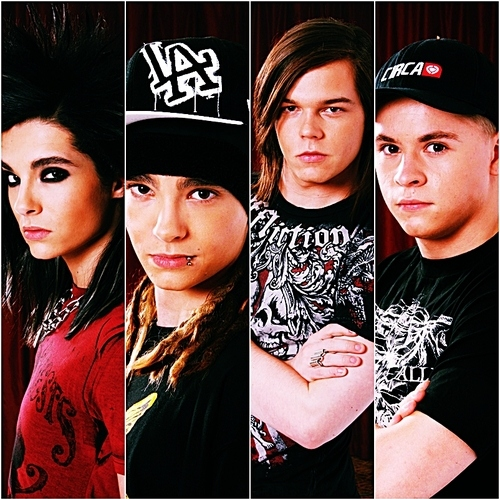 bill kaulitz, georg listing, the kaulitz twins, tokio hotel, tom kaulitz