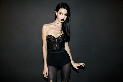black, fashion, felice fawn, goth, gothic