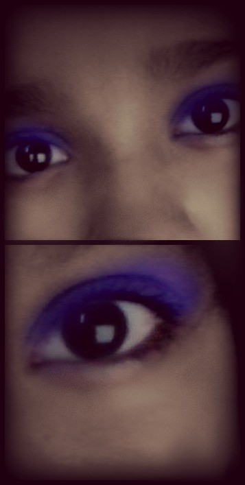 blue eyes, makeup, beautiful!