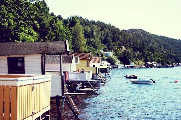 blue, norway, retro, summer, vintage