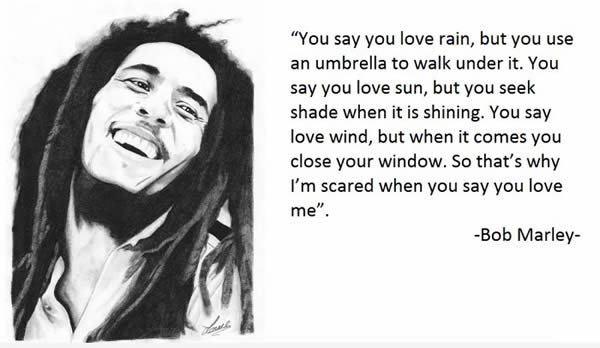 bob marley love quote image 556372 on