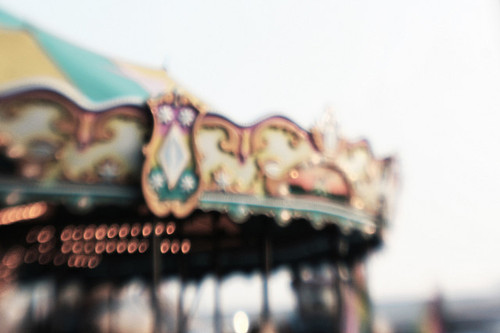 art, beautiful, bokeh, couple, cute, fashion, hair, merry go round, merry-go-round, photograph, photography, pretty