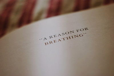 book, breathing, brethe, hope, quote