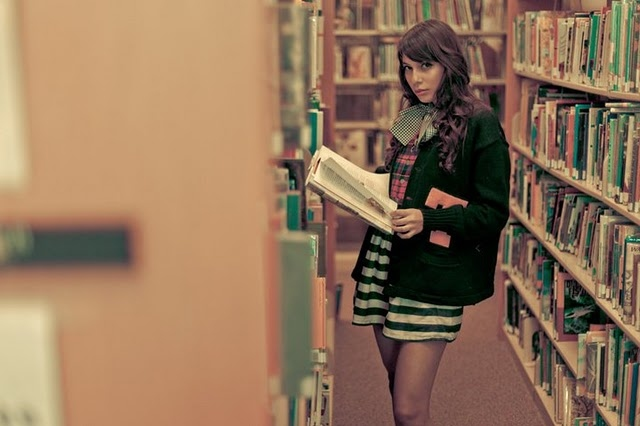 books, dress, ester, photography, sandra