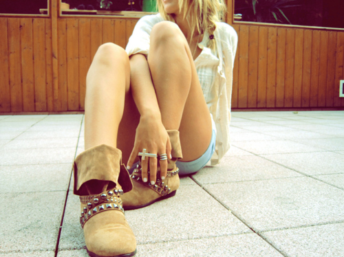 boots, brown, cross, fashion, floor