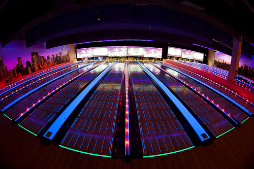 bowling, neon colors, cute, fashion, photography