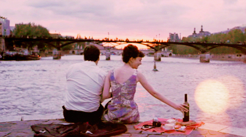 boy, bridge, couple, cute, dress