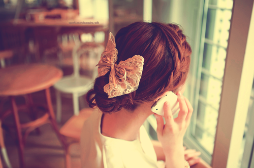 braid hairstyle hair accessories bow