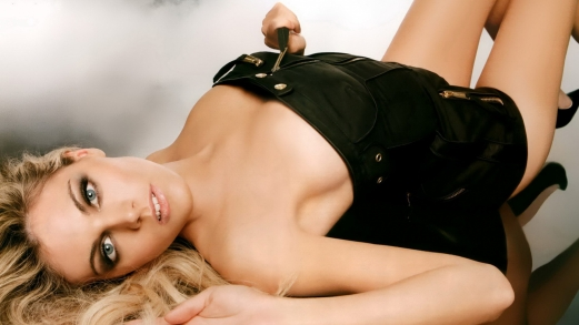 blonde, breast size, lingerie