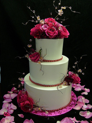 cake, floral, flower, flowers, pretty
