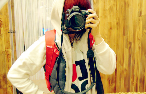 art, beautiful, camera, couple, cute, dananti kim, fashion, hair, mikki, photography, pretty, red lipstick, ulzzang