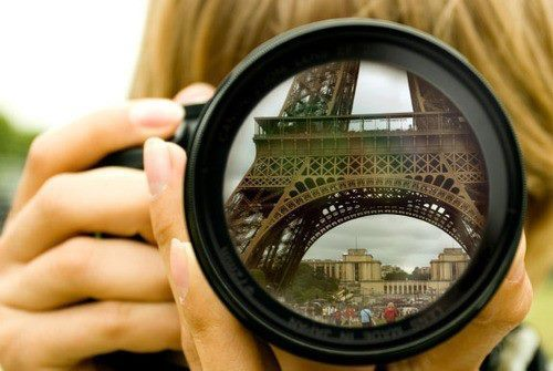 camera, paris, photography, girl