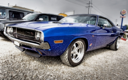 car, dodge challenger, rt, stones