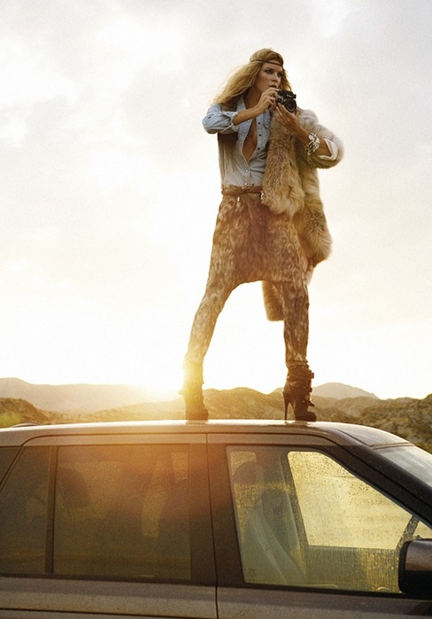 car, fashion, fur, girl, harem