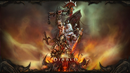 cg, diablo, game, video