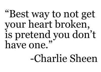 chalie sheen, two and a half man, quotes