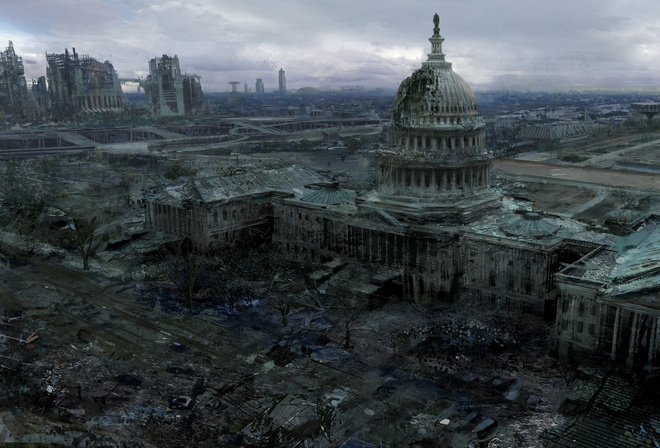 city, fallout 3, washington